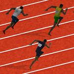 100 Meter Spiel