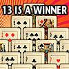 13 IS EEN WINNAAR spel