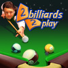 2 billiards 2 play game