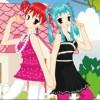 2 filles ensoleillées jeu