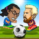 2 Hráč Head Futbal hra