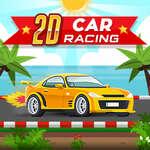 Course automobile 2D jeu