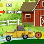 2d tractor hill climb game