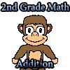 2-ри клас математика допълнение игра