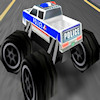 3D polizia Monster Trucks gioco