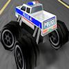 3D policajnej Monster truckov hra