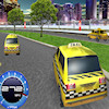 Dostihy 3D Taxi hra