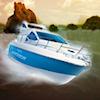 3D Motorboat game