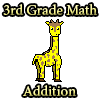 3rd Grade Math Addition game