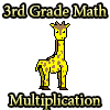 3rd Grade Math Multiplication game