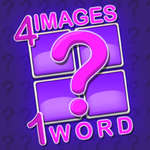4 Images and 1 Word game