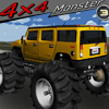 4 x 4 Monster 3 spel