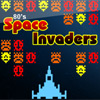 80 s space Invaders jeu