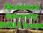 Université abandonnée Html5 Escape jeu