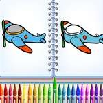 Aero Coloring Books game