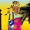 Afrikanische Schönheit Spiel