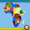 Africa GeoQuest game