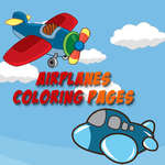Airplanes Coloring Pages game