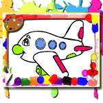 Airplane Coloring Book game