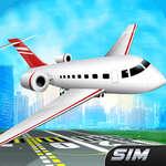 Simulator de zbor avion joc
