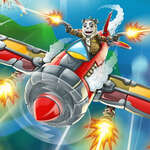 Combate aéreo 2D juego