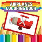 Aviones Libro para colorear juego