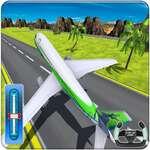Letisková letecká parkovacia hra 3D