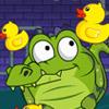 Alligator als eend spel