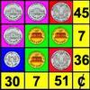 Monedas de álgebra juego