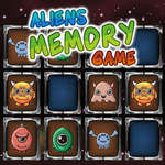 Aliens Memory Game spel