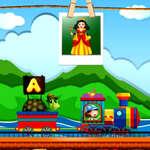Tren alfabetic joc