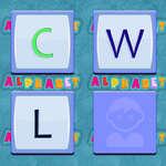 Memoria del alfabeto juego