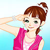 Amelie fille Dress up jeu