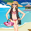 Amy am Strand Dress up Spiel