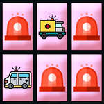 Ambulance Trucks Memory game