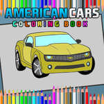American Cars Coloring Book game