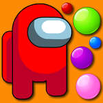 Among Them Bubble Shooter game