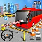 American Modern Bus Parking Bus Game Simulator 2020
