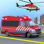 Ambulans Kurtarma Oyunu Ambulans helikopter