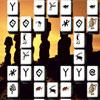 Ősi szobrok Mahjong játék