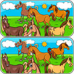 Animali Differenze gioco