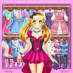 Anime Kawaii Dress Up game