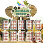 Animals Cards Memory game