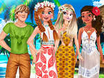 Annas Birthday in Hawaii game