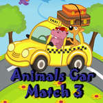 Animal Cars Match 3 jeu