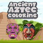 Ancient Aztec Coloring game