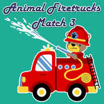 Animal Firetrucks Match 3 juego
