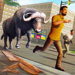 Angry Bull Attack Wild Hunt Simulator game