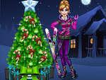 Анна подготовка за Коледа игра