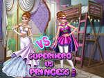 Annie Super-héroïne vs princesse jeu
